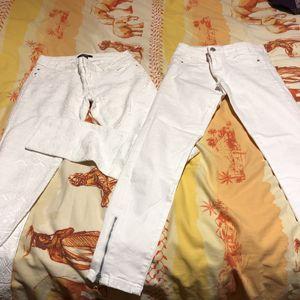 2 pantalons taille 34