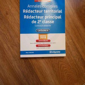 Concours Redacteur Territorial