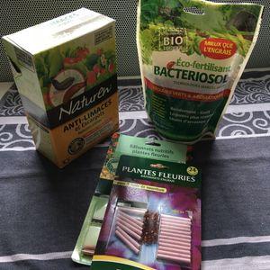 Lot produits jardin