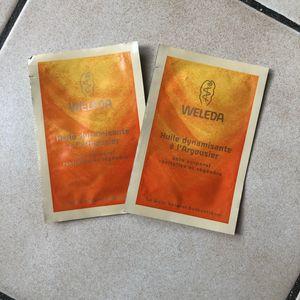Échantillons Weleda