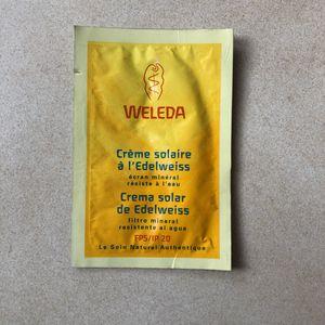 Échantillon Weleda