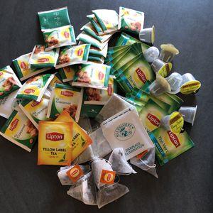 Lot thé