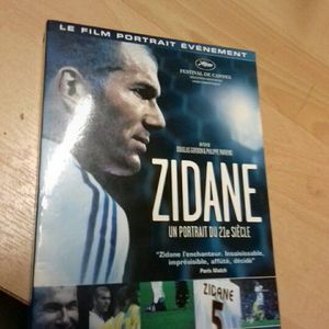 Dvd documentaire zidane