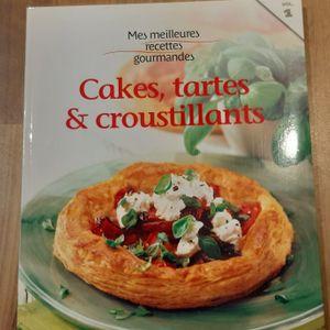 Livre cakes,tartes & croustillants