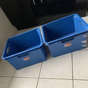 2 boîtes de stockage
