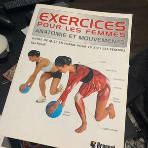 Livre d'exercices pour la mise en forme