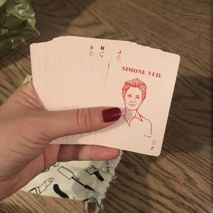 Jeu féministe de 55 cartes