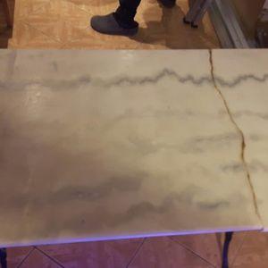 plateau en marbre pour table