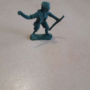 Petit soldat en plastique