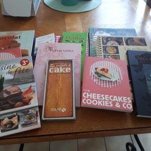 Livres de recette de cuisine