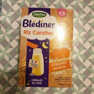 Blediner riz carottes