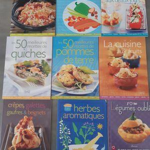 9 livres de cuisine