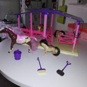 Centre équestre jouet enfant