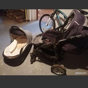 Pousette +cosy +siège auto bébé