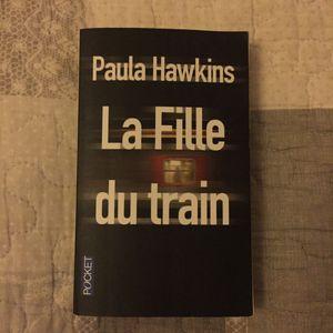 Livre : la fille du train Paula Hawkins