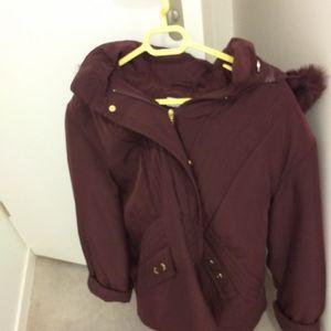 Manteau femme Damart couleur violet très bonne état taille 54
