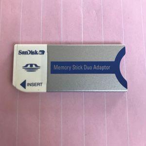 Adaptateur carte mémoire