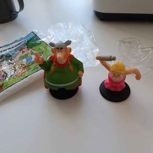 Personnages Asterix ( Mc Donald)