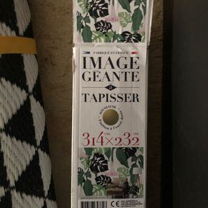 Papier à tapisser tropical