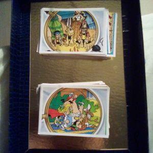 Lot cartes Astérix