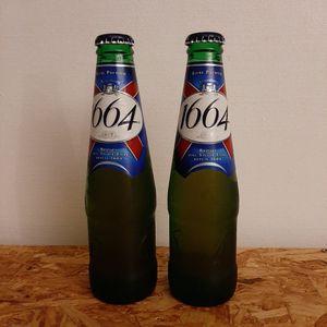2 bouteilles de 1664 25cl