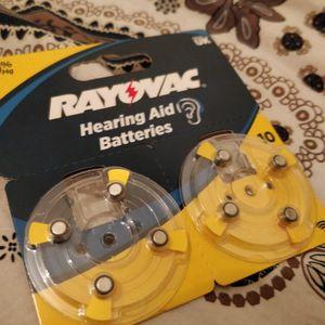 Batteries pour appareil auditif 10