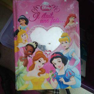 Livre Disney princesses
