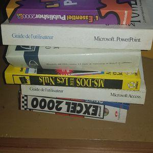 Lot de livres informatiques
