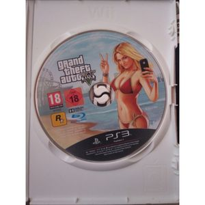 Jeu playstation 3 Grand Theft Auto V
