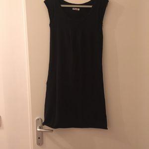 Robe noir en coton BIZBEE T36