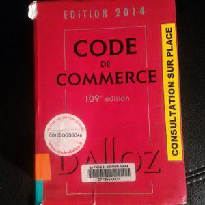 Code de Commerce édition 2014
