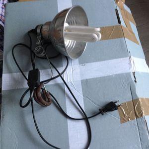 Lampe spot qui s'attache avec une pince
