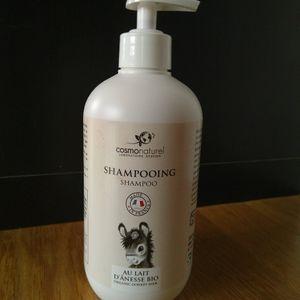 Shampooing au lait d'ânesse bio - Cosmo Naturel