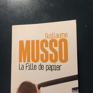 LIVRE La fille de papier de Guillaume Musso