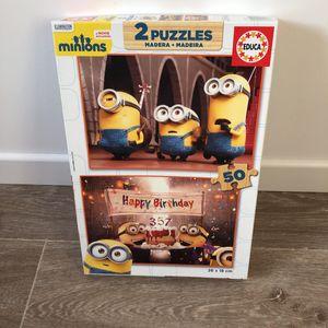 2 puzzles Minions