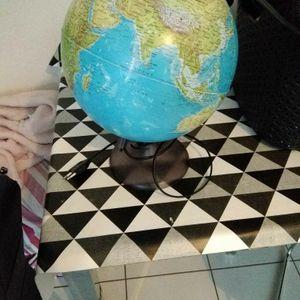 globe qui s'allume