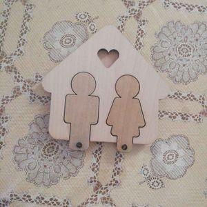 Porte clés couple