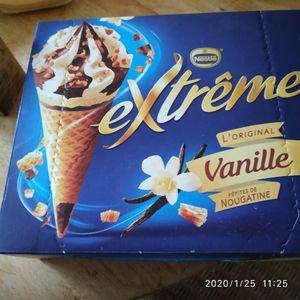 Glacés vanille chocolat