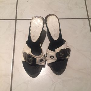 Mules taille 36 blanches