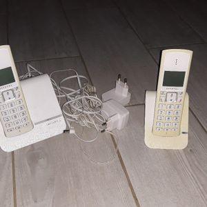 Téléphones fixe sans fils
