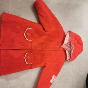Manteau fille 2 ans