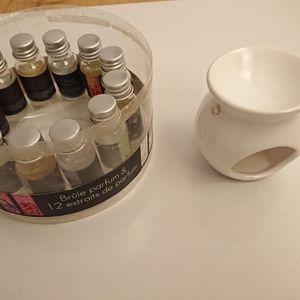 Brule parfum + 12 extraits