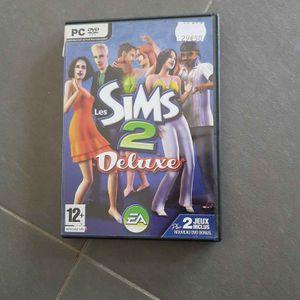 Jeu PC Les Sims's 2 Deluxe