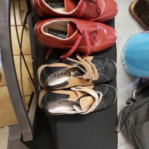 Chaussure en cuir 37