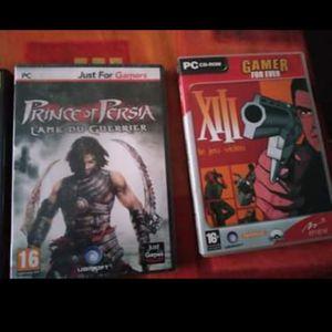 2 jeux PC dont a neuf