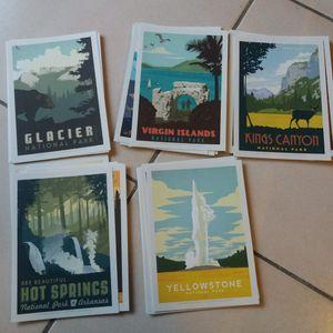 Cartes postales américaines