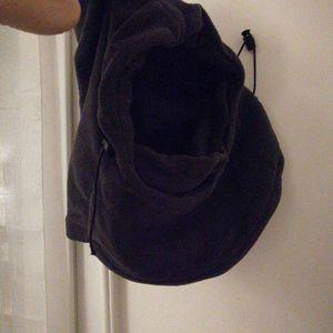 Cagoule, bonnet gris