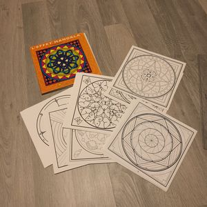 Set de feuille à colorier