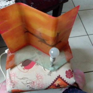 Lampe style africain