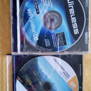 Cd install sans clé et dvd velo